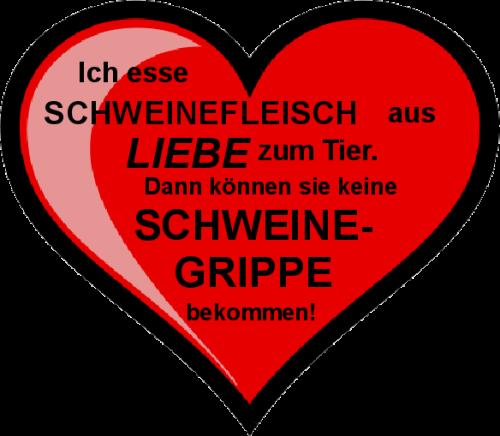 Frisch Schweinegrippe - Ein Herz für Tiere! | darktiger.org OP63