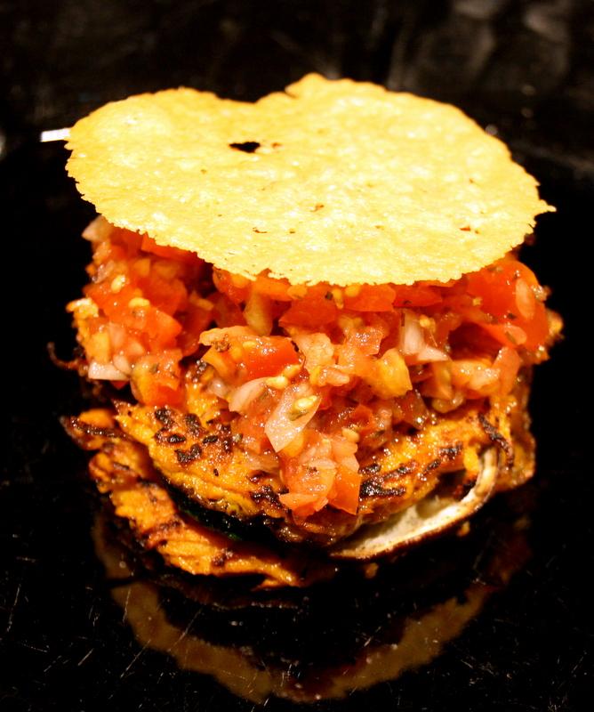 lasagne von der s kartoffel mit ingwer auberinen zucchini tomatensalat und parmesan chip. Black Bedroom Furniture Sets. Home Design Ideas
